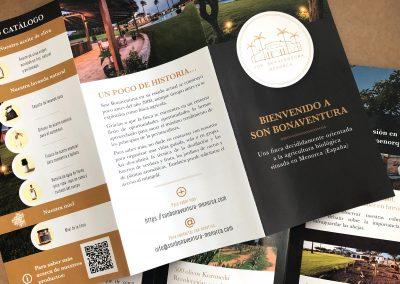 Cartelería y flyers en Menorca