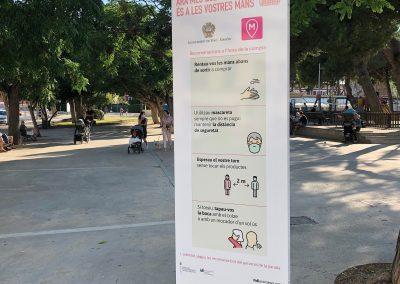 Diseño de rollers y banners en Menorca