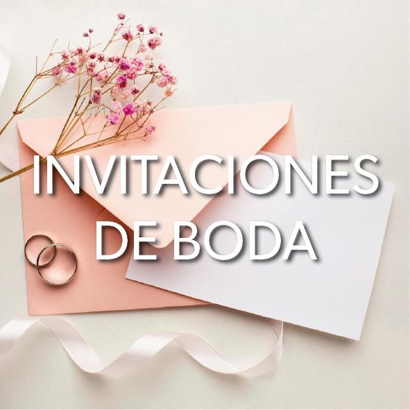 Invitaciones de boda en Menorca