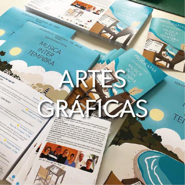 Artes gráficas en Menorca